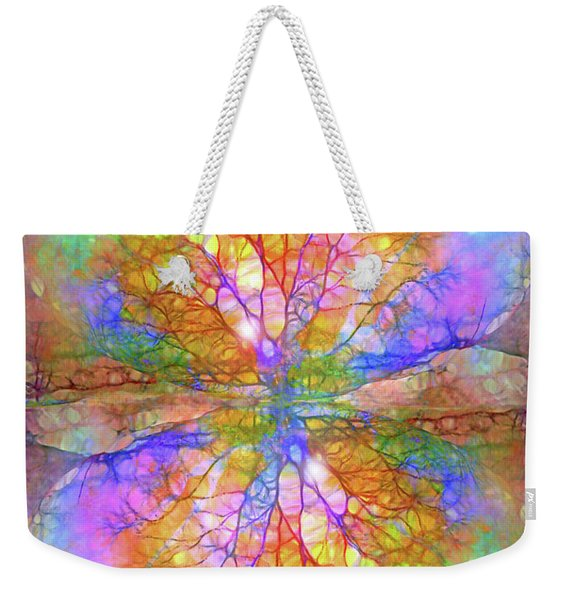 The Rainbow That Connects Us Weekender Tote Bag