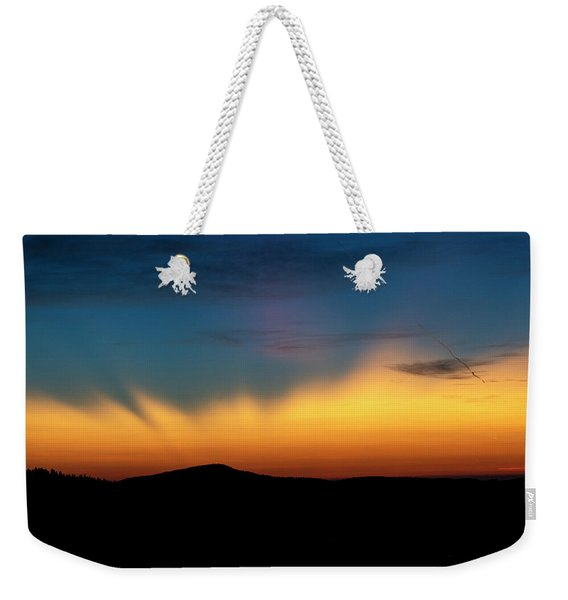 The Rays Of Dawn Weekender Tote Bag