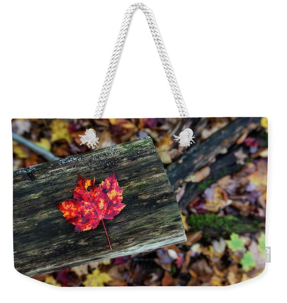 The Reason They Call It Fall Weekender Tote Bag