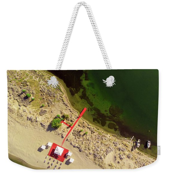 The Red Weekender Tote Bag
