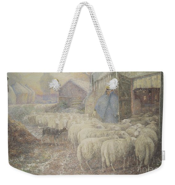 The Return Of The Shepherd Weekender Tote Bag