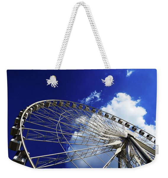 The Ride To Acrophobia Weekender Tote Bag