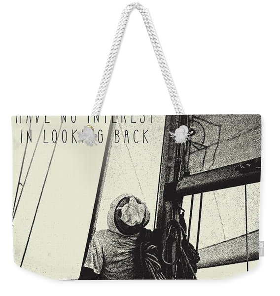 The Right Track Weekender Tote Bag