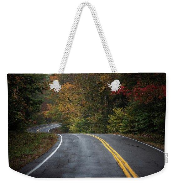 The Road To Friends Lake Weekender Tote Bag