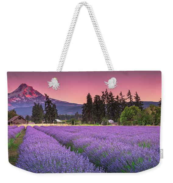 The Road To Mt Hood  Weekender Tote Bag