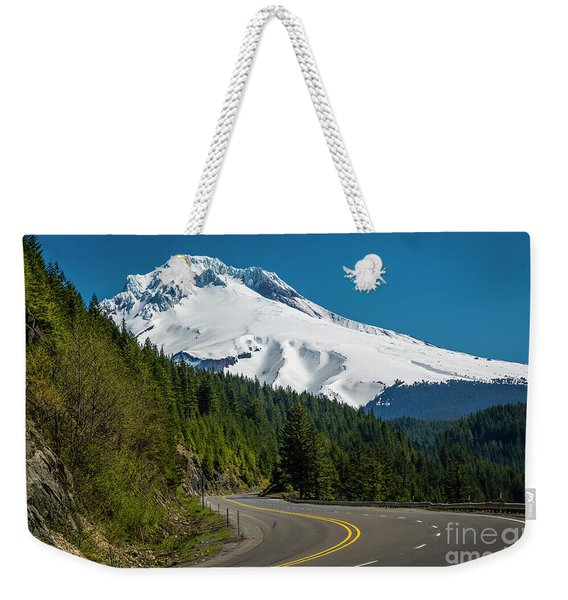 The Road To Mt. Hood Weekender Tote Bag