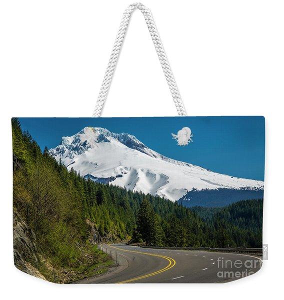 The Road To Mt. Hood Weekender Tote Bag