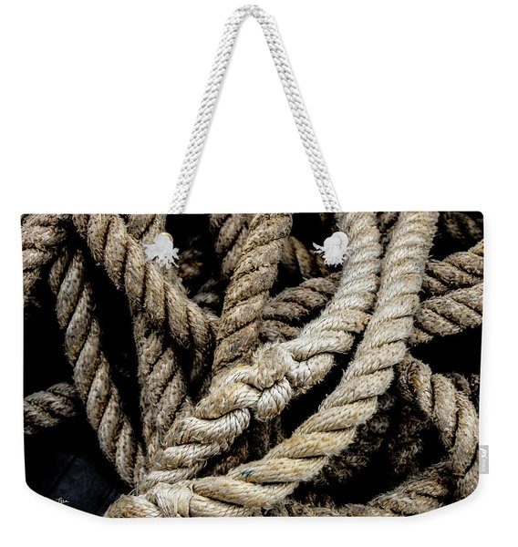 The Rope Weekender Tote Bag