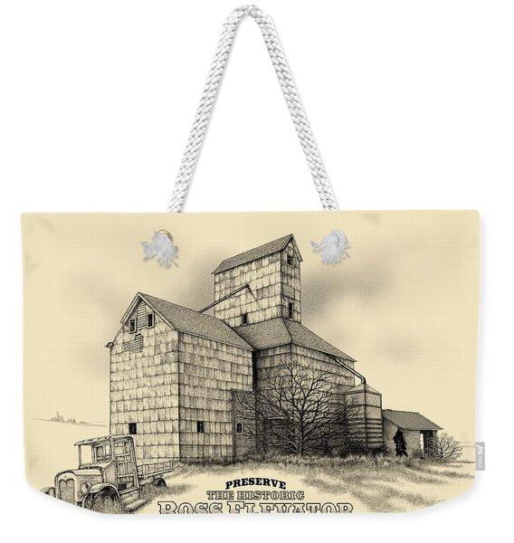 The Ross Elevator Version 2 Weekender Tote Bag