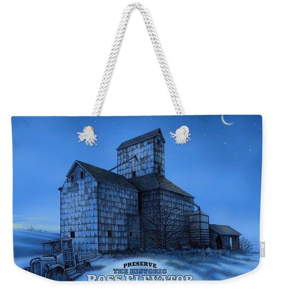 The Ross Elevator Version 3 Weekender Tote Bag
