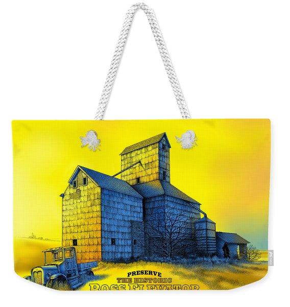 The Ross Elevator Version 4 Weekender Tote Bag