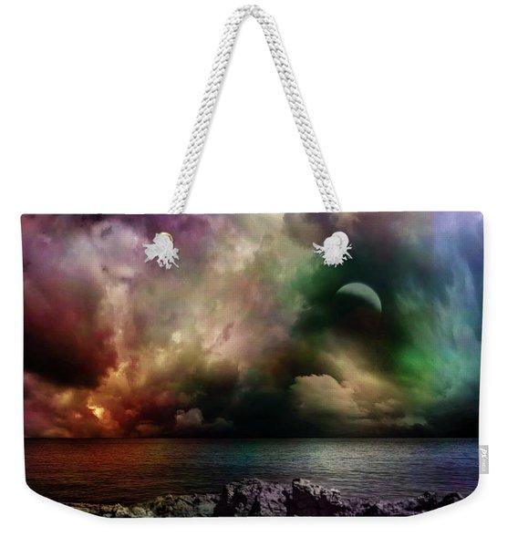 The Sacred Storm Weekender Tote Bag