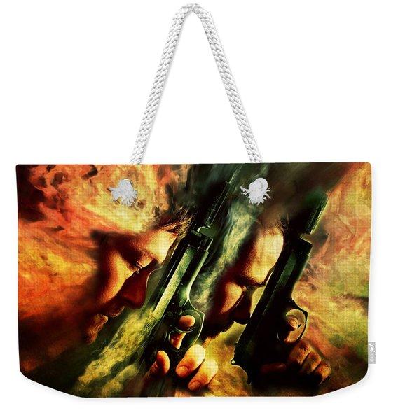 The Sandstorm Saints Weekender Tote Bag