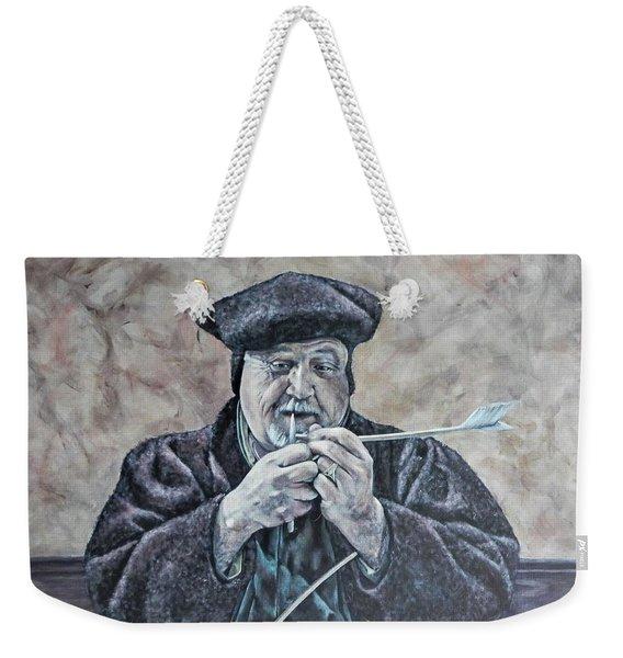 The Scrivener Weekender Tote Bag