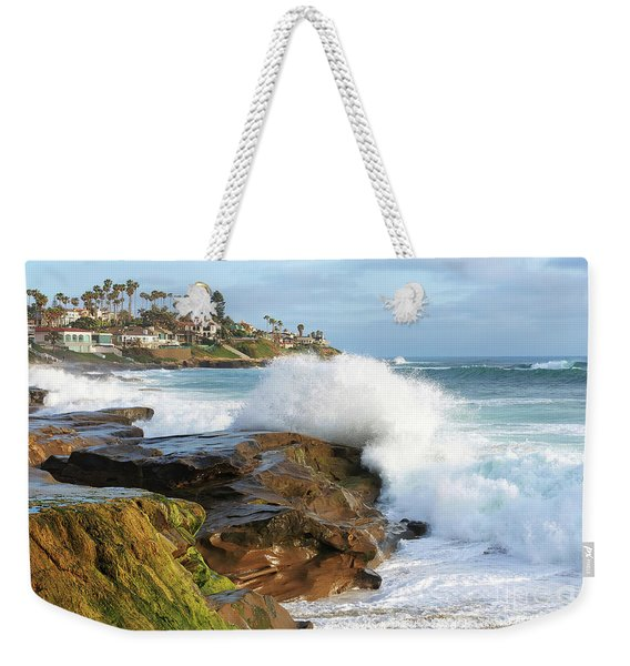 The Sea Was Angry That Day My Friends Weekender Tote Bag
