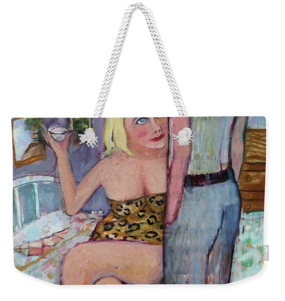 The Seduction Weekender Tote Bag