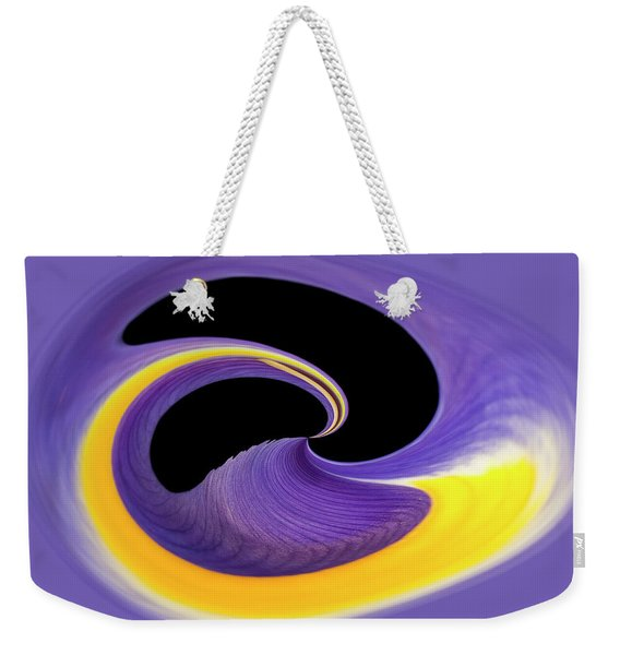 'the Separation Of Darkness And Light Weekender Tote Bag