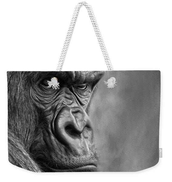 The Serious One Weekender Tote Bag