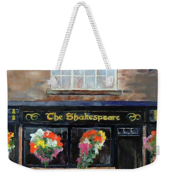 The Shakespeare Weekender Tote Bag