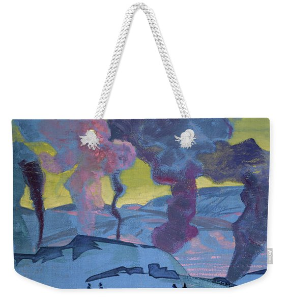 The Signal Fires Of Peace - Detail Weekender Tote Bag