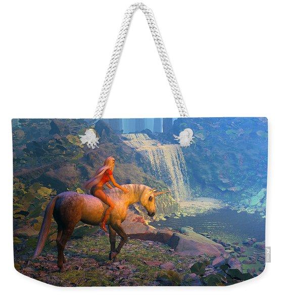 The Silver Horn Weekender Tote Bag