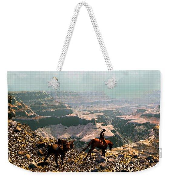 The Sinking Earth Weekender Tote Bag