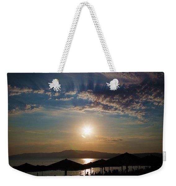 the Sky above Us Weekender Tote Bag
