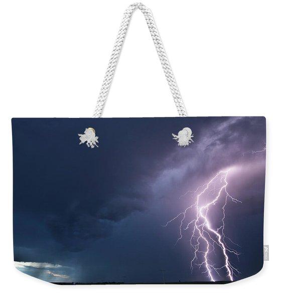 The Sky Is Alive Weekender Tote Bag
