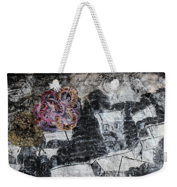 The Slow And Winding Tale Of Destruction Weekender Tote Bag