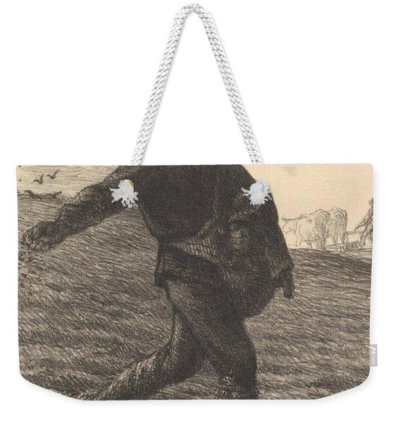 The Sower, 1851  Weekender Tote Bag
