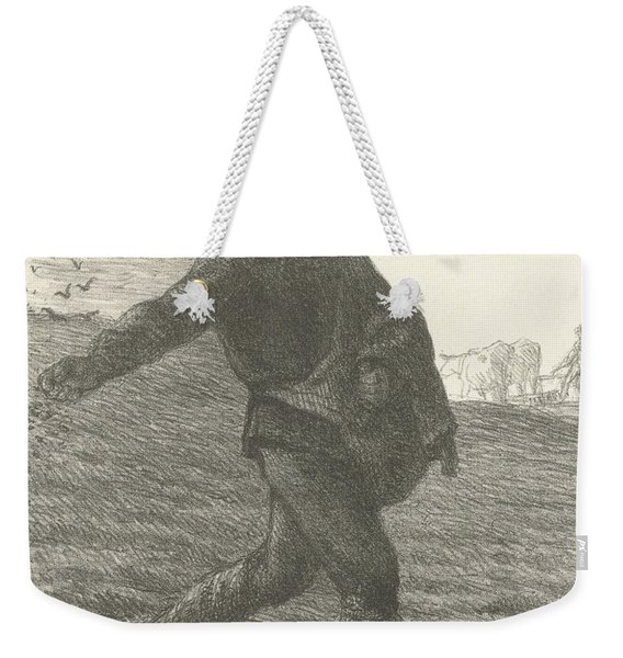 The Sower, 1851 Lithograph Weekender Tote Bag