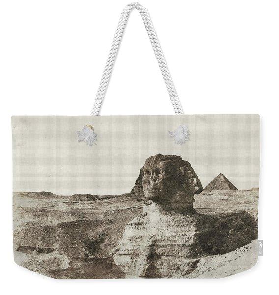 The Sphinx, 1853 Weekender Tote Bag
