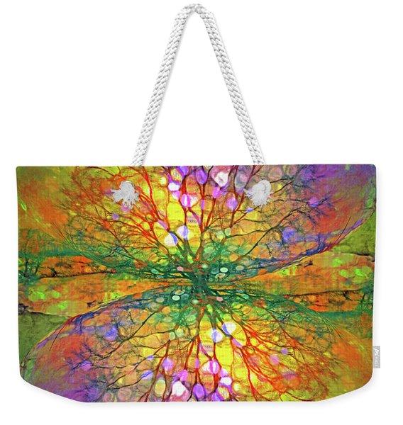 The Splinters In Us That Sparkle Weekender Tote Bag