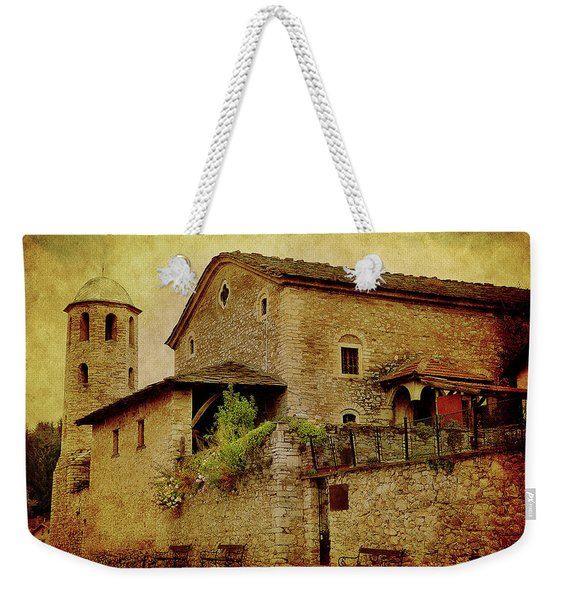The Stone Church Weekender Tote Bag