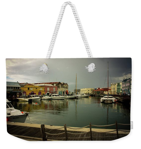 The Storm's A Coming. Weekender Tote Bag