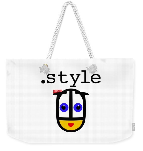 The Style Weekender Tote Bag