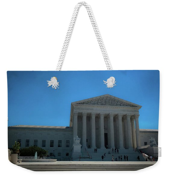 The Supreme Court Weekender Tote Bag