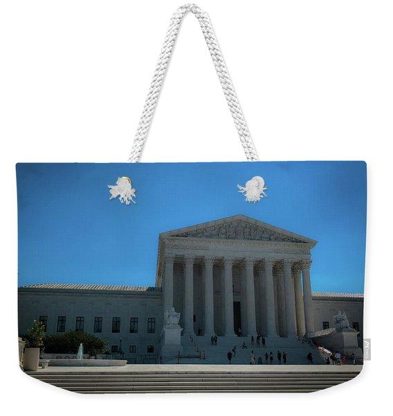 The Supreme Court Weekender Tote Bag