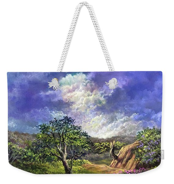 The Sustaining Celestial Weekender Tote Bag