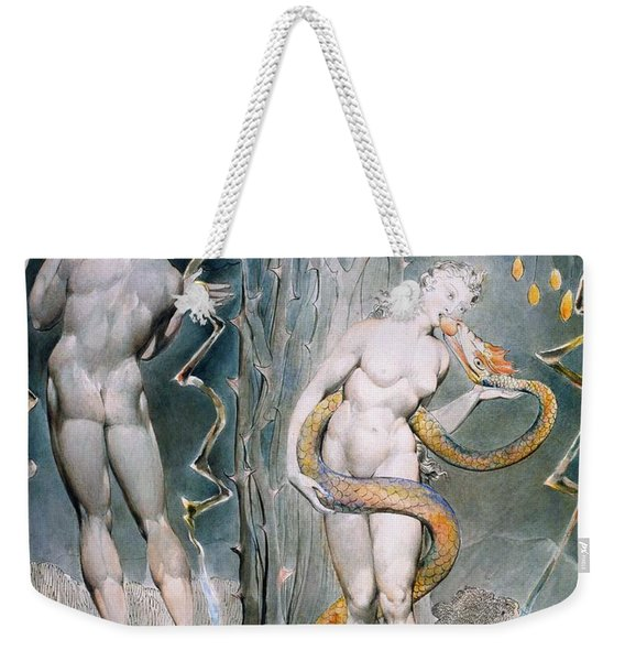 The Temptation And Fall Of Eve - Digital Remastered Edition Weekender Tote Bag