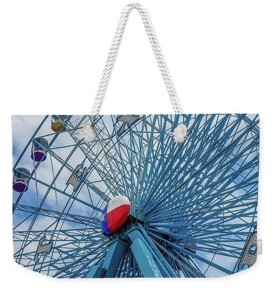 The Texas Star, State Fair Of Texas Weekender Tote Bag