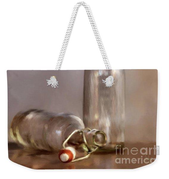The Things You Find Weekender Tote Bag