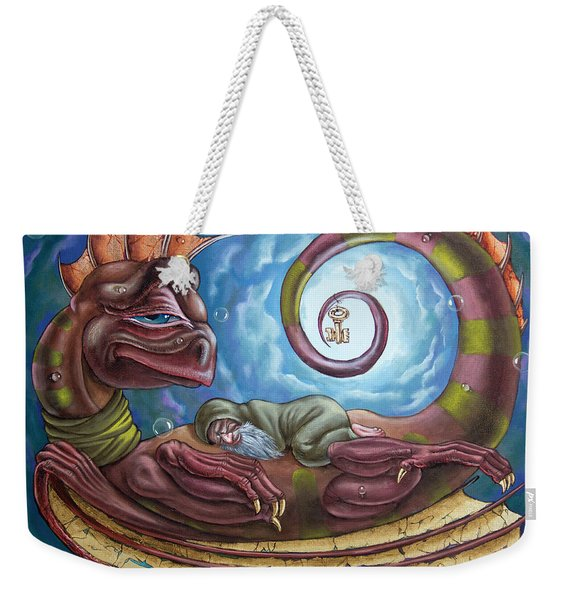 The Third Dream Of A Celestial Dragon Weekender Tote Bag