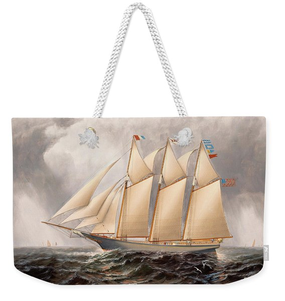 The Three Masted Schooner Rosa Eppinger Weekender Tote Bag