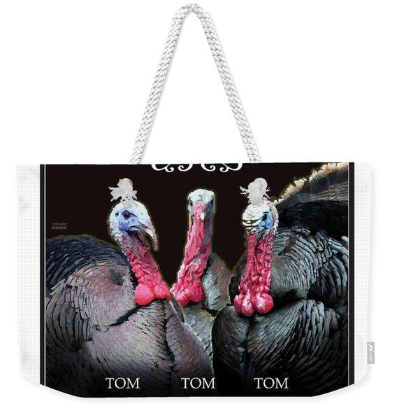 The Three Terrors Weekender Tote Bag