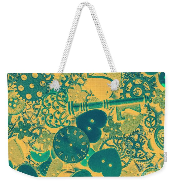 The Tme, The Place Weekender Tote Bag