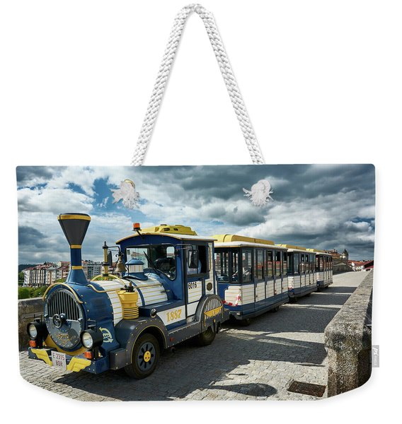 The Touristic Train Of Ourense Weekender Tote Bag