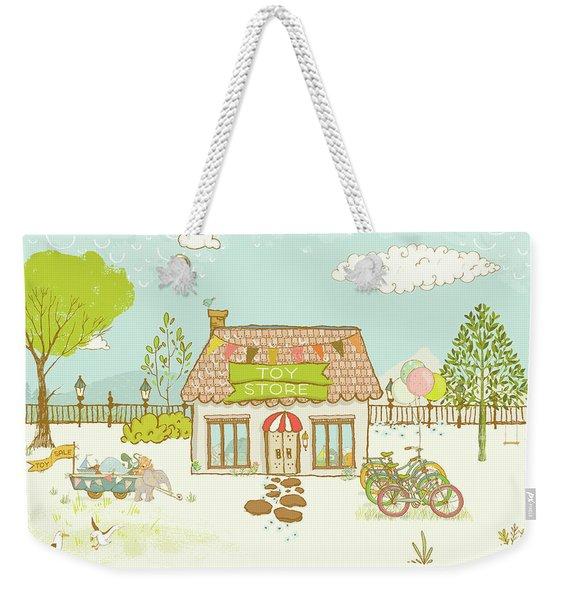 The Toy Store Weekender Tote Bag