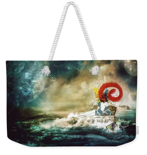 The Traffic Of The Whales Weekender Tote Bag