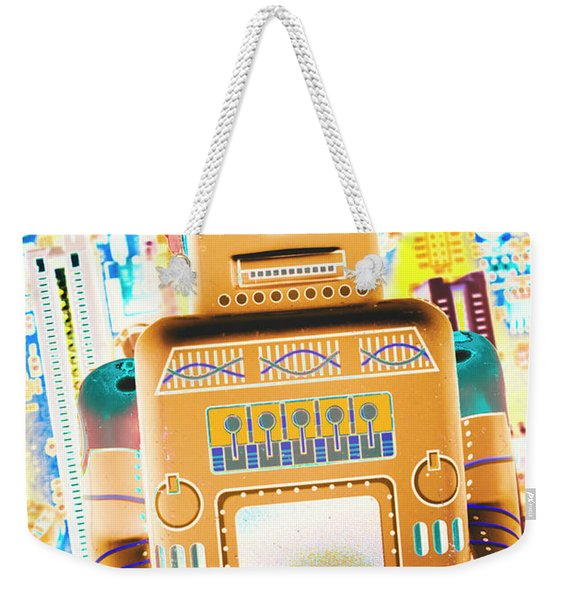 The Transistor Bot Weekender Tote Bag
